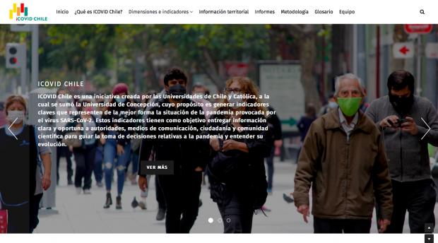 ICOVID Chile reúne a un grupo interdisciplinario de expertos y expertas de las tres universidades a cargo del análisis de los datos, la formulación de las diferentes dimensiones y la generación de documentos técnicos.