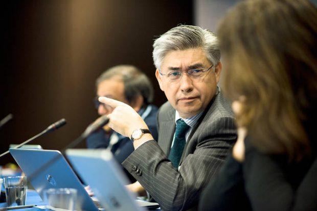 El abogado mexicano y presidente de la Comisión Interamericana de Derechos Humanos (CIDH), Joel Hernández. Foto: CIDH.