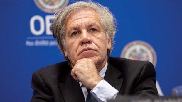 El secretario general de la Organización de Estados Americanos (OEA), Luis Almagro, decidió no renovar el mandato del encargado de la CIDH, lo que generó una crisis institucional. Foto: Archivo.