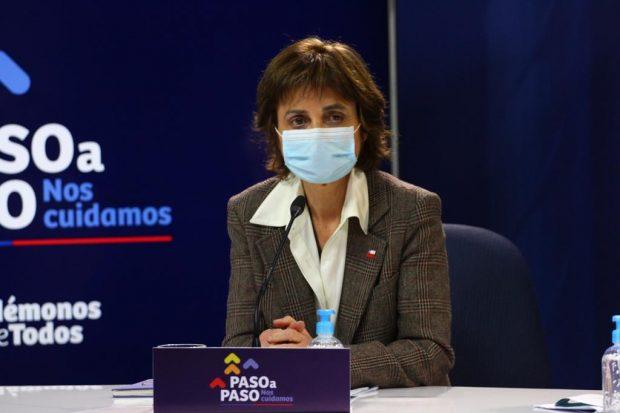La subsecretaria de Salud Pública, Paula Daza. Foto: Ministerio de Salud.