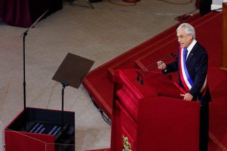 Piñera mensaje presidencial 2