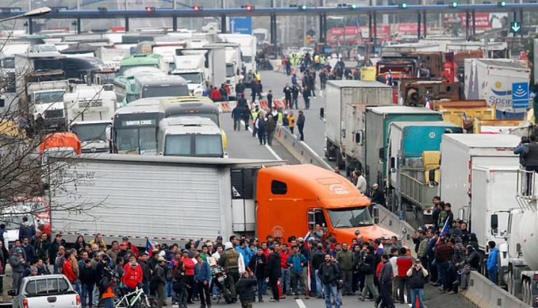 camioneros chile