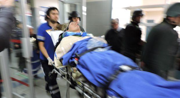 Actualmente el machi Celestino Córdova se encuentra internado en el Hospital Intercultural de Nueva Imperial debido al delicado estado de salud que se encuentra por la huelga de hambre que ya sostiene hace 100 días. Foto: Cedida.