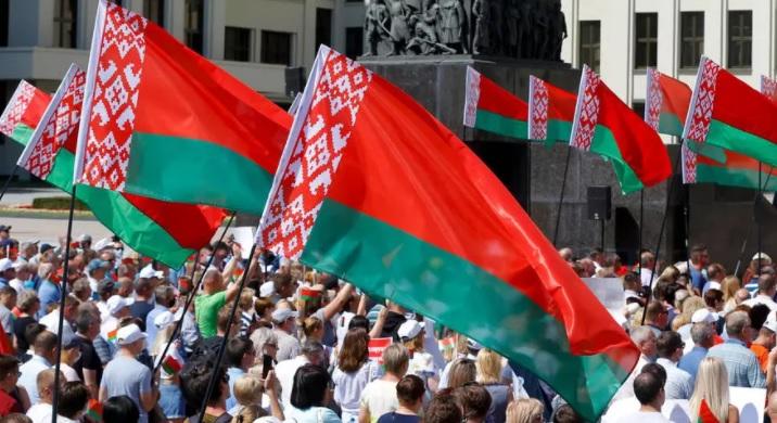 manifestación lukashenko