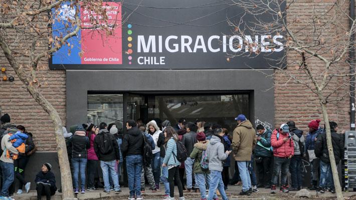migraciones filas