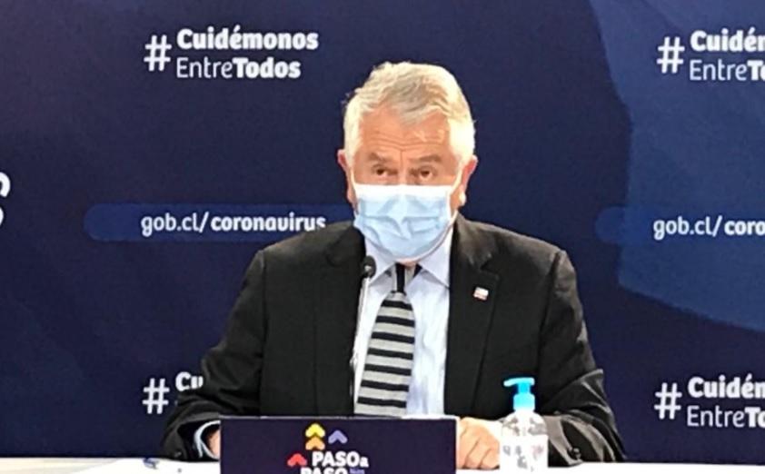 Covid-19: Chile reporta 69 nuevas muertes y casos activos suman 15.186