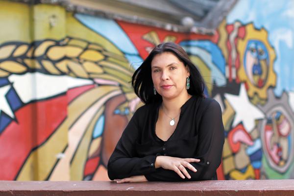 La presidenta de la Central Unitaria de Trabajadores (CUT), Bárbara Figueroa, señaló que los resultados dan cuenta de las altas expectativas que tiene la ciudadanía. Foto: DF.