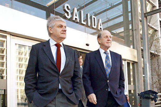Carlos Lavín y Carlos Délano.