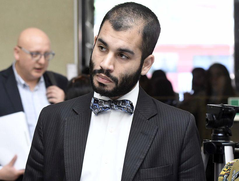 21 de NOVIEMBRE de 2018 / VALPARAISO Renato Garin antes de la  conferencia de prensa en los pasillos de la cámara de diputados . FOTO :PABLO OVALLE ISASMENDI / AGENCIAUNO