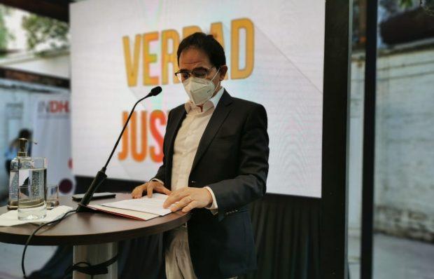 """El director nacional del Instituto Nacional de Derechos Humanos, Sergio Micco, sostuvo que """"el Estado de Chile ha hecho cosas, pero éstas son dolorosamente insuficientes"""". Foto: Radio Universidad de Chile."""