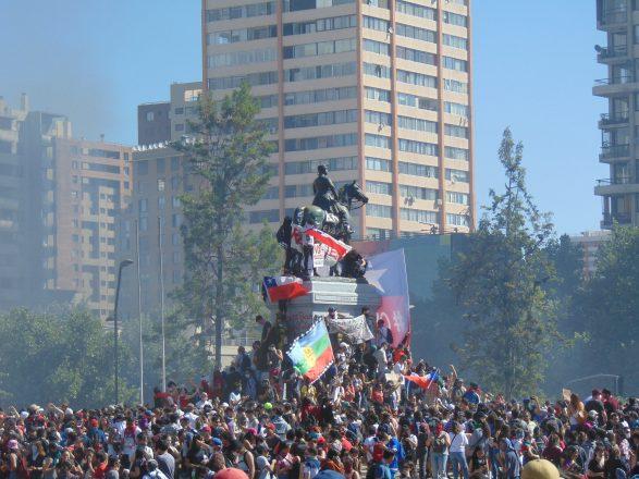 Mauricio Osorio_ Primeros días de la protesta