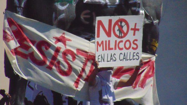 Mauricio Osorio_Primeros días de la protesta