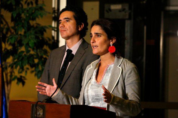 Ministros Zaldívar y Briones