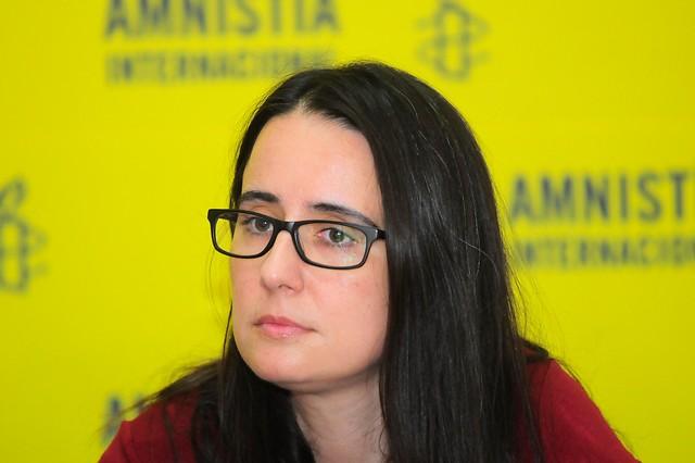 Abogada de la Universidad de Chile y magíster en Derecho del Trabajo de la Universidad de Nueva York. Ingresó a Amnistía Internacional en 1990, ha sido presidenta de su Junta Directiva y desde 2011 se desempeña como directora ejecutiva. Foto: Amnistía Internacional.