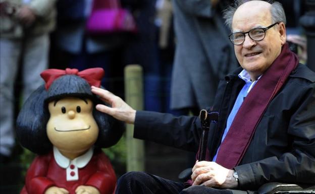 El destacado dibujante argentino Quino falleció este miércoles a la edad de 88 años.