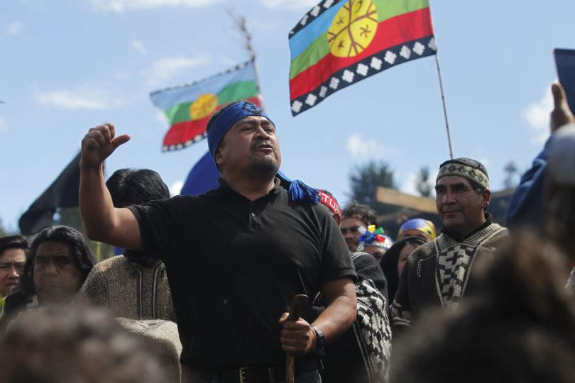 Ercilla 17  de noviembre 2018 Se realiza el velatorio del comunero mapuche Camilo Catrillanca  Dragomir Yankovic/Aton Chile