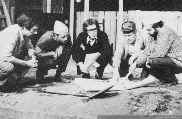 En la imagen: Nissim Sharim, Jaime Vadell, Cristián García Huidobro, Rubén Sotoconil y Jose Manuel Salcedo