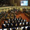 Valparaiso, 8 marzo 2018 Diputados electos asumen como nuevos parlamentarios de la Camara de Diputados. Sebastian Cisternas/ Aton Chile