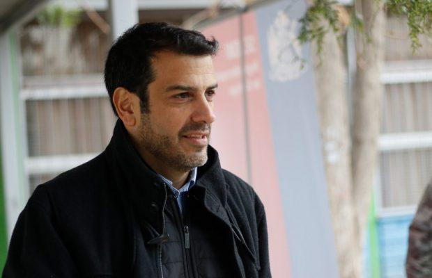 Ministro del Interior Rodrigo Delgado