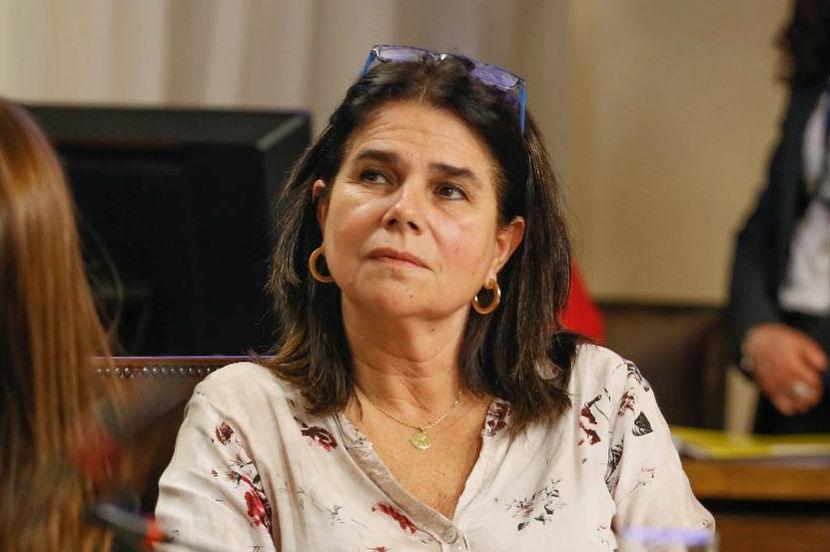 La diputada RN, Ximena Ossandón, sostuvo para ella las evaluaciones se deben hacer cuando termine la pandemia, sin embargo, señaló que el estilo confrontacional de Mañalich es algo que le jugó en contra. Foto: Agencia UNO.