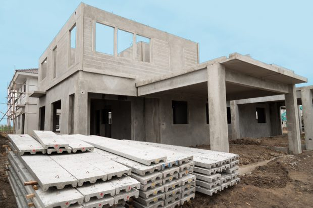The building structure are made from prefabrication system.All p