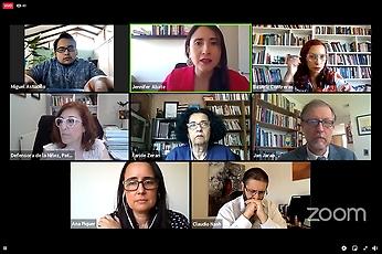 """El panel """"Estallido social y derechos humanos: ¿dónde estamos? ¿hacia dónde vamos?"""" contó con la participación de seis instituciones de defensa de los Derechos Humanos en Chile."""
