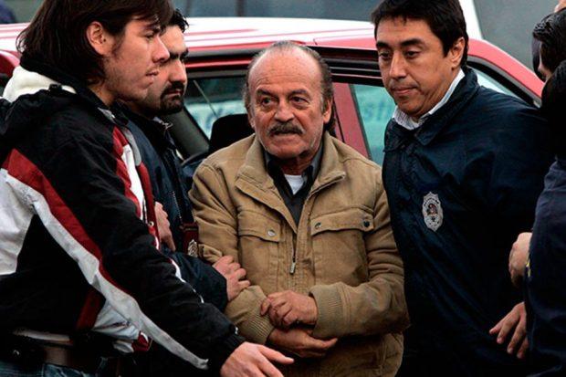 Raúl Iturriaga Neumann fue mayor general del Ejército y director asistente de la DINA. Actualmente cumple una serie de condenas en el penal Punta Peuco, como autor de los homicidios calificados de Carlos Prats y su esposa, Sofía Cuthbert, en Buenos Aires. Foto: Agencia UNO.