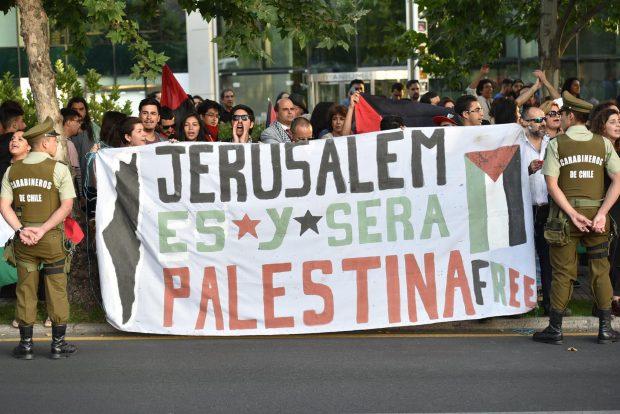 Chile es el país fuera del Medio Oriente que alberga a la comunidad más grande de palestinos en el mundo. Foto: Federación Palestina.