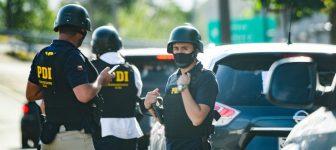 El pasado 7 de enero más de 850 funcionarios de la Policía de Investigaciones ingresaron a la Comunidad Autónoma de Temucuicui para realizar un allanamiento, el mismo día en que se dictó el veredicto por el asesinato del comunero Camilo Catrillanca. Foto: Agencia UNO.