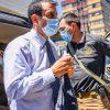 de enero 2021 Ministro Delgado defendió operativo de la PDI en Ercilla donde detective terminó muerto. Foto: Agencia UNO.