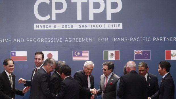 El Tratado Integral y Progresista de Asociación Transpacífico, conocido como TPP-11, fue negociado durante el segundo gobierno de la expresidenta Michelle Bachelet. Foto: Archivo.