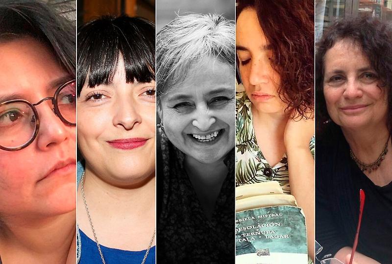 Cinco poetas chilenas de distintos lugares del país se reúnen este miércoles 20 en la VII Escuela de Temporada.