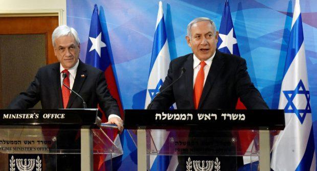 En 2019, en la visita de Sebastian Piñera en Israel con su homologo, Benjamin Netanyahu, el Gobierno de Chile y el Israeli National Ciber Directorate (INCD) firmaron un Memorandu de Entendimiento en Ciberseguridad. Foto: Presidencia.