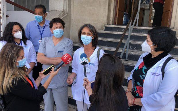 La directiva regional del Colegio Médico en Antofagasta ha sido enfática en que la pandemia se debe controlar fuera de los hospitales, reforzando el testeo, trazabilidad y aislamiento. Foto: Archivo.