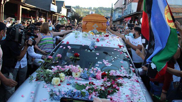 Funeral de Francisco Martínez.