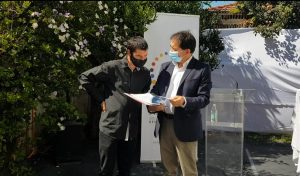 Esteban Carter y Sergio Micco / Foto: INDH