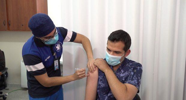 vacunación médicos