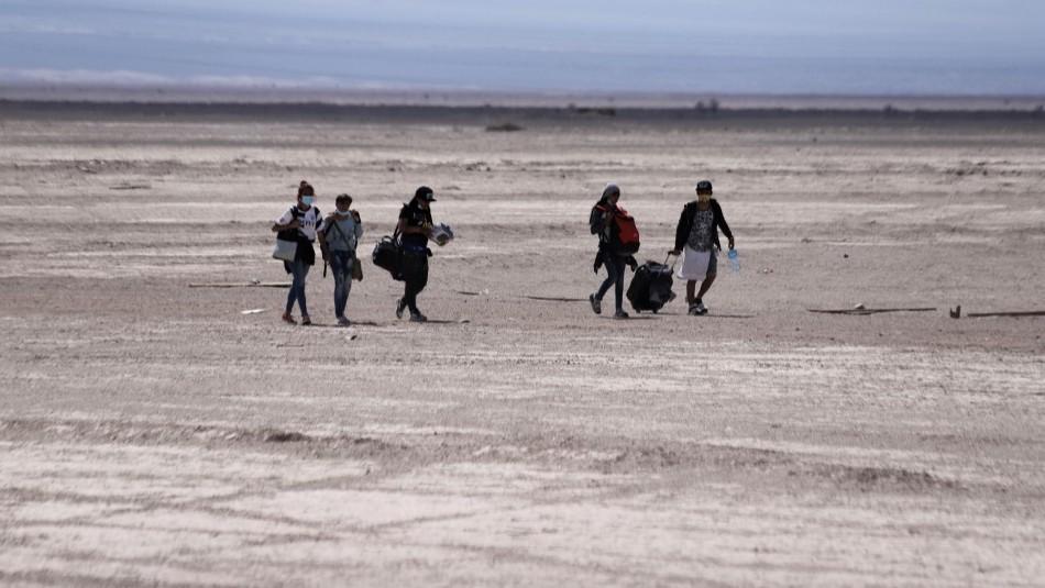 migracion desierto