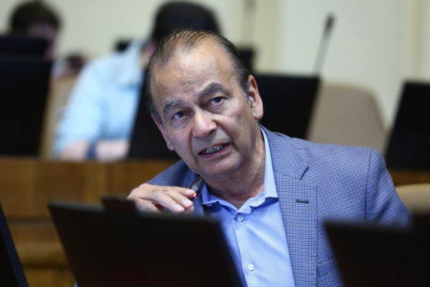 El diputado PPD Ricardo Celis fue intendente de la Región de La Araucanía entre 2003 y 2006, durante el gobierno del expresidente Ricardo Lagos. Foto: Agencia UNO.