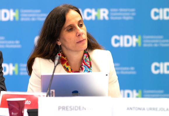 La abogada de la Universidad de Chile, Antonia Urrejola, se convirtió en la primera mujer chilena en liderar esta entidad de la Organización de los Estados Americanos creada para promover la observancia y la defensa de los derechos humanos en el continente. Foto: CIDH.