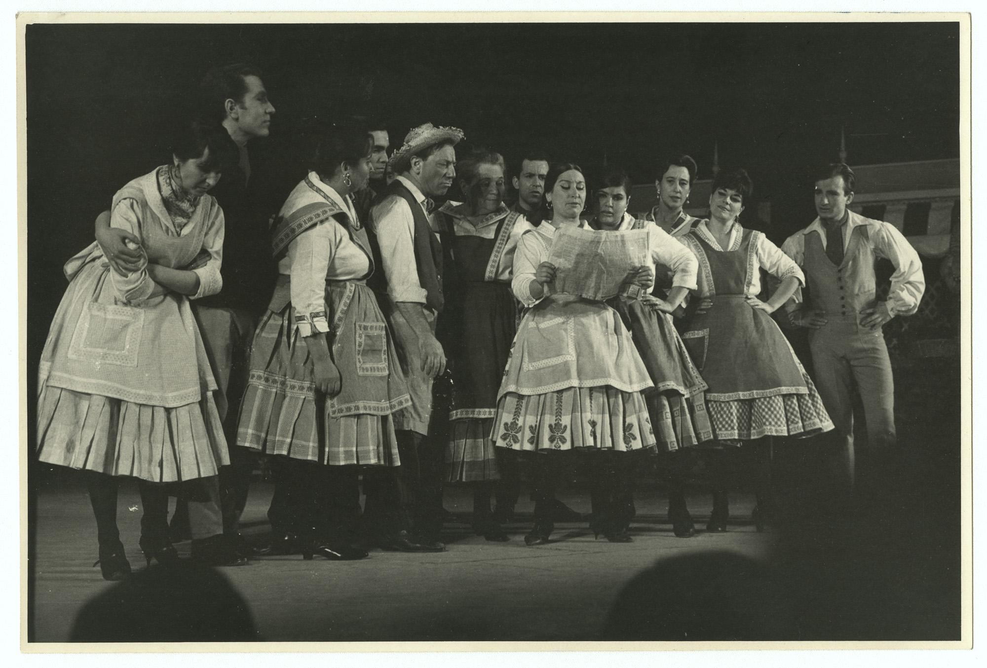Donación Isidora Aguirre; Teatro chileno
