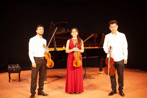 En la imagen, Miguel A. Muñoz, Mari Alaff y Cristofer Schenke.