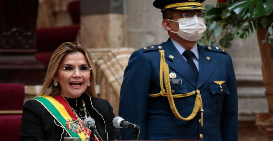 President Añez Attends Bolivia Independence Day Celebrations