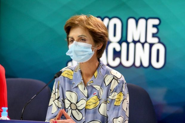 La subsecretaria de Salud Pública, Paula Daza, es quien lidera la estrategia nacional de testeo, trazabilidad y aislamiento del Ministerio de Salud. Foto: Minsal.