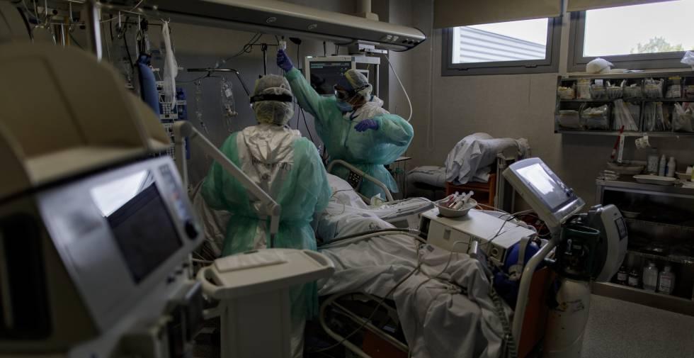 Actualmente la ocupación hospitalaria a nivel país se encuentra en un 95%.