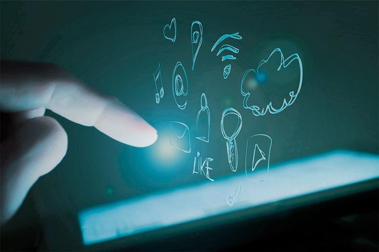 3. Redes sociales