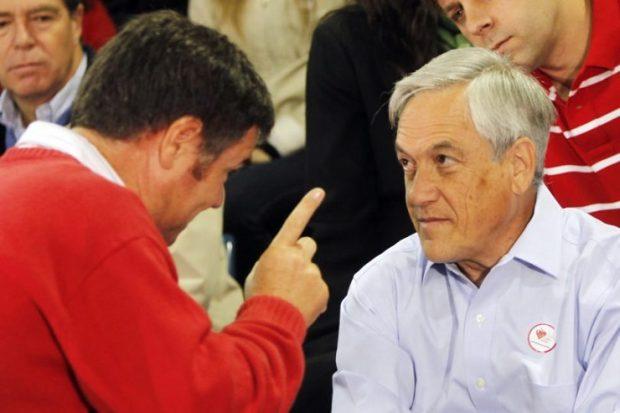 El proyecto de tercer retiro del 10% de los fondos previsionales despachado por el Congreso Nacional ha enfrentado al Presidente Piñera con los parlamentarios de su sector. Foto: Archivo.