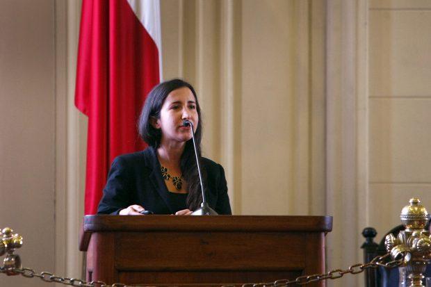 La Dra. Francisca Crispi es presidenta del Colegio Médico Regional Metropolitano y académica de la Escuela de Salud Pública de la Universidad de Chile. Foto: UChile.