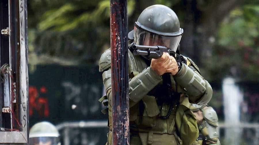 El uso desproporcionado de las escopetas antidisturbios fue uno de los aspectos criticados por las organizaciones de Derechos Humanos.