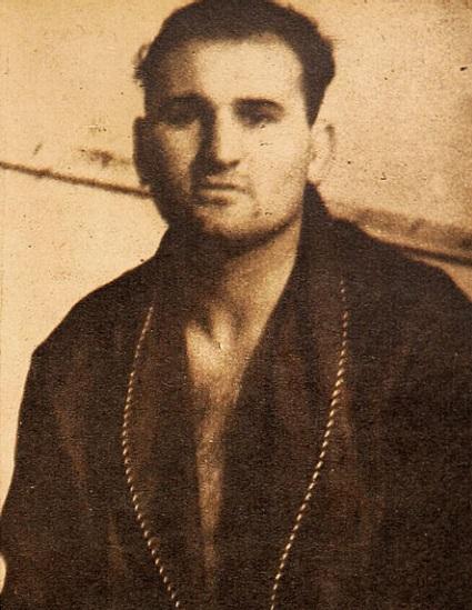El boxeador argentino Ernesto Carnesse.